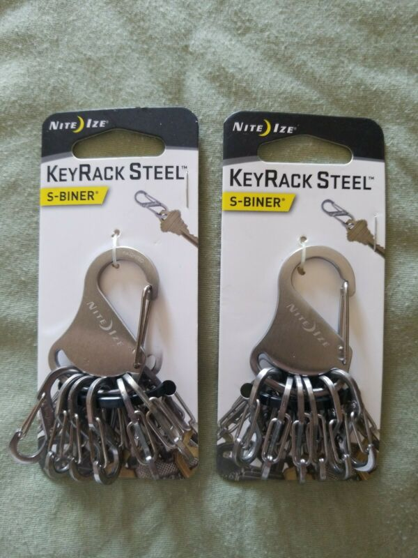 2 Nite Ize KRS-03-11 KeyRack Steel Gravity Bin