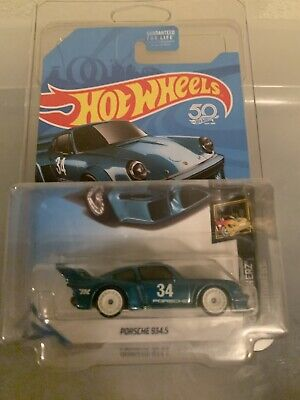 Hot Wheels 2018 Porsche 934.5 Super Treasure Hunt New Chase 50th