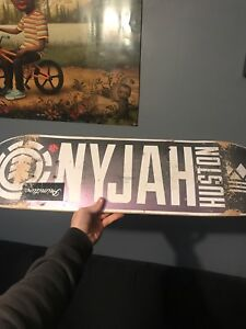 Nyjah Huston skateboard deck