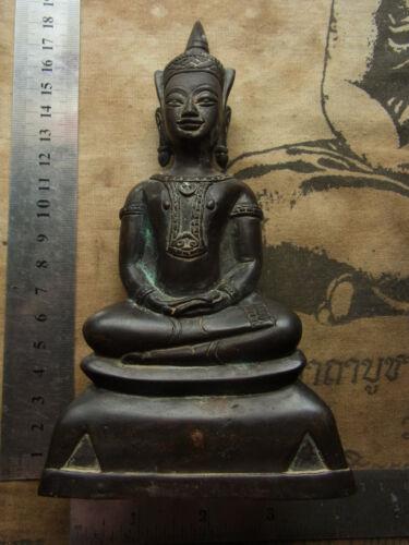 Phra Chai Bucha or Phra Ngang  Phra Bucha,Ayutthaya age 2-300 yr Buddha Statue