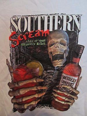 "Southern Comfort ""I'm A Southern Screamer"" Halloween Bar Promo T-Shirt Size XL"