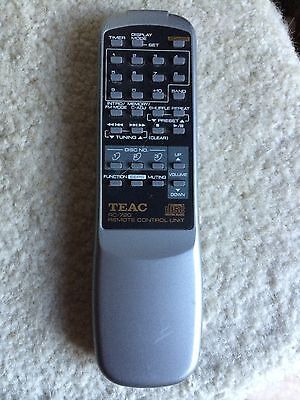ORIGINAL TEAC RC-720 RC720 3 DISC AUDIO REMOTE CONTROL SHIP OUT WITH TRACKING