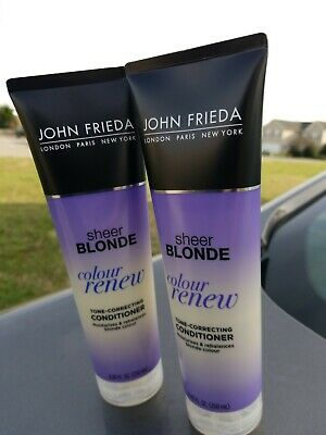 Sheer Blonde Color Renew Conditioner by John Frieda Unisex 8.45 oz