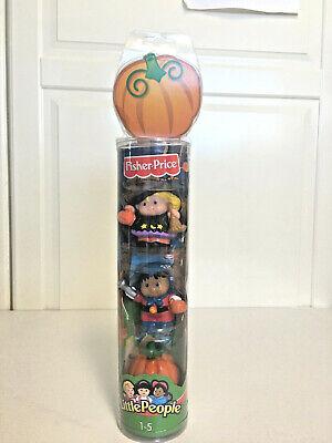 Fisher Price Little People Halloween Girl Witch Boy Superhero Pumpkin Figures