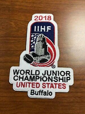 2018 IIHF World Junior Championship patch