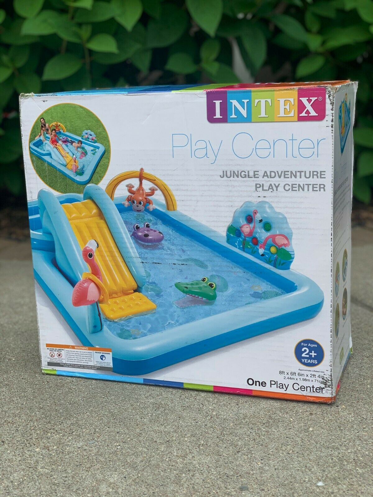 NEW Intex Inflatable Jungle Adventure Play Center Pool Water