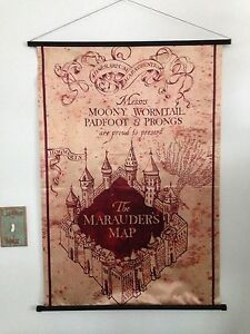 HARRY POTTER Marauder's Map Banner
