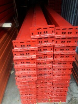 Pallet Rack Racking Shelving Racks Warehouse Teardrop New Beams 12x7 Rails