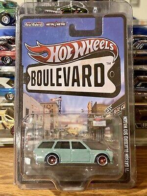 Hot Wheels Boulevard Datsun Bluebird 510 Wagon - Perfect Card!
