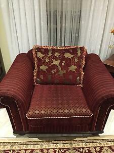 European Style Couch / Arm Chair Caroline Springs Melton Area Preview