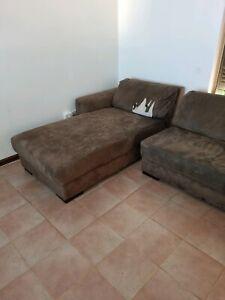Free L shape Lounge with ottoman