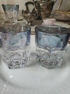Lenox Swedish Lodge Collection Crystal Double Old Fashioned Glass set of 2 ()