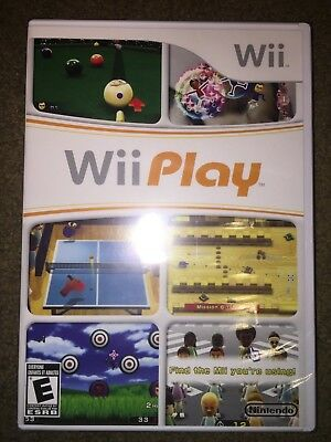 *New* Nintendo Wii Play (Game Only) - Free Shipping!