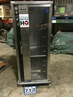 Fwe Ph-1826-18 Insulated Heated Food Cart Americas Steam Kettle Hqrts 712