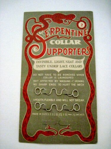 """Clever Vintage Selling Card for """"Serpentine Collar Supporters""""  *"""