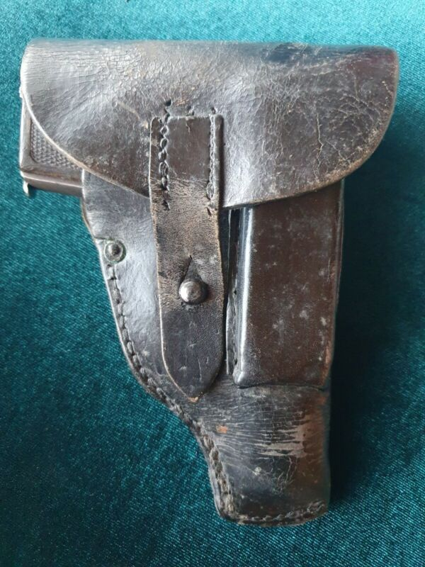 Original holster for Walther model 4 Browning 1910 stamp Crown / III