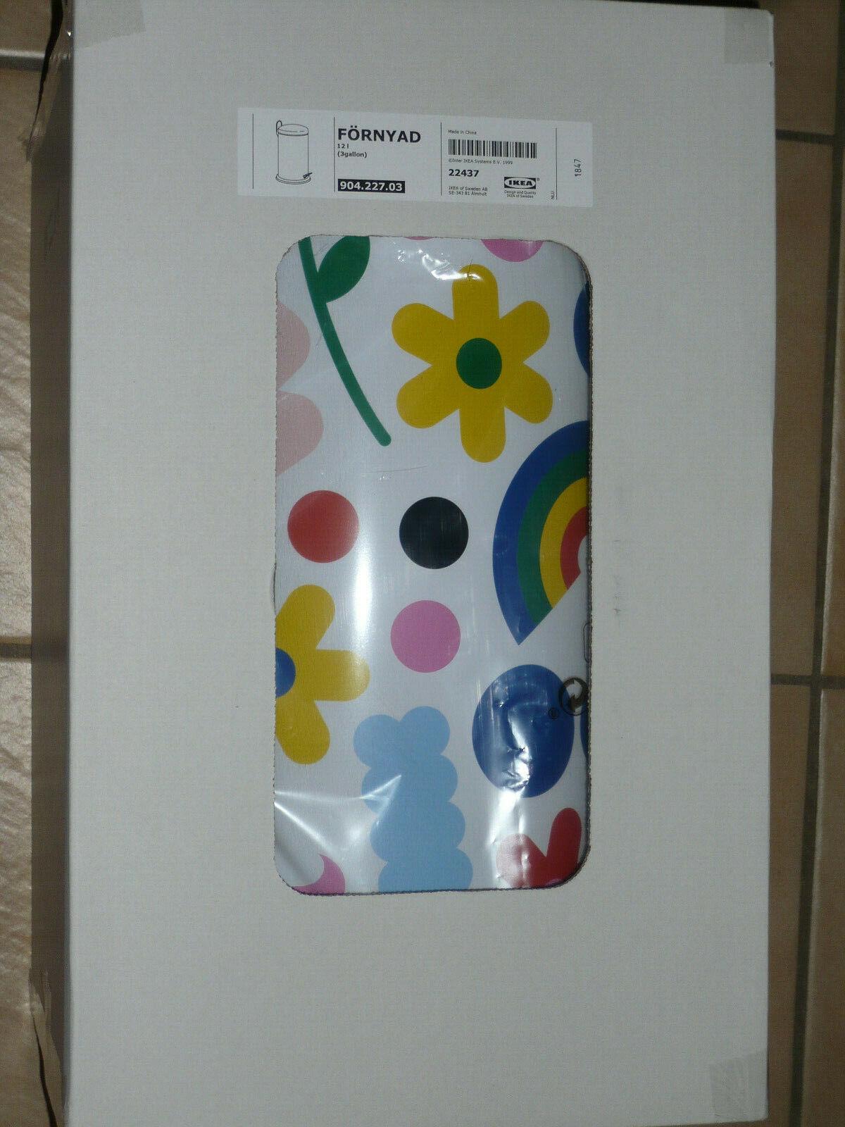 IKEA FÖRNYAD Mülleimer 12 Liter Treteimer