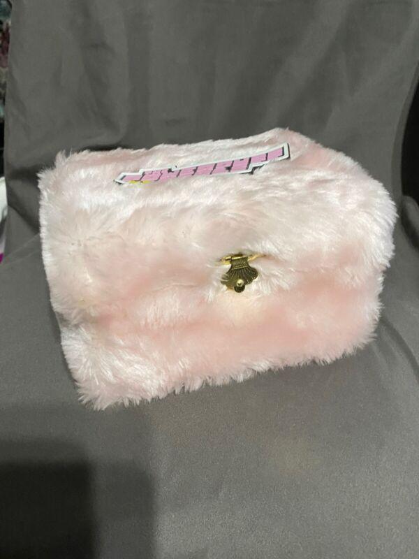 PowderPuff Girls Fuzzy Jewelry Box With Blossom