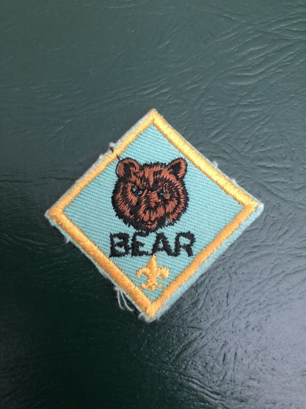 Boy Scout Bear Rank Patch