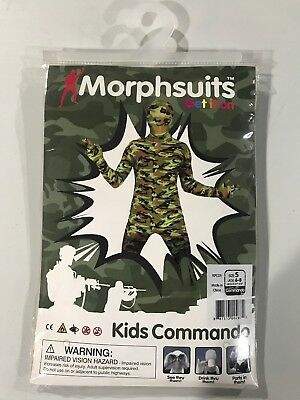 KIDS MORPHSUIT FANCY DRESS COSTUME FOR BOOK WEEK HALLOWEEN PARTY BOYS GIRLS