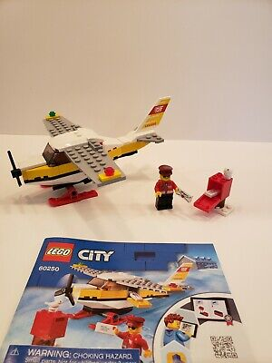Lego City Mail Plane 60250 100% Complete
