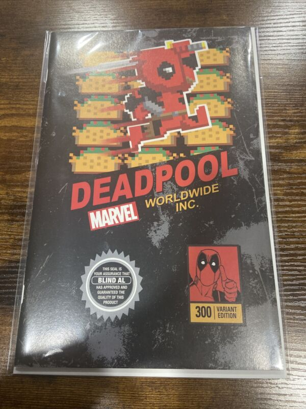 DEADPOOL #300  * NM+ * MARIO VIDEO GAME BOX 8-BIT 8 BIT VARIANT NINTENDO MARVEL