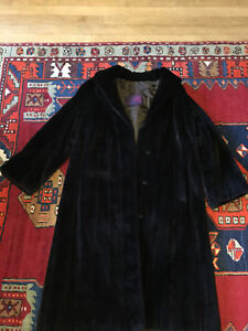 Sheared Mink fur coat by Rideau Brown Furs small medium