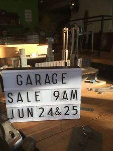 Massive Garage Sale and Vintage/Industrial Store Clearance Collingwood Yarra Area Preview