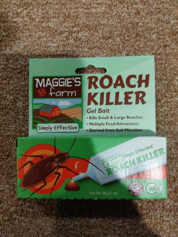Bug Killer Maggies Farm Roach Killer Gel Bait Small and Large Roaches Ants