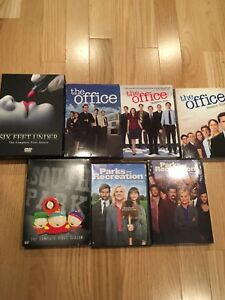 Various DVD box sets ($20 for all)