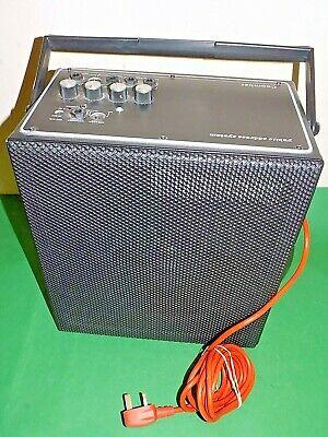 COOMBER PA PUBLIC ADDRESS SYSTEM Amplifier Amp Speaker Portable 2100 Made in UK