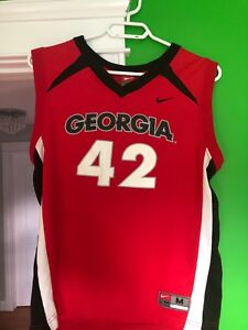 Georgia basketball jersey size youth medium