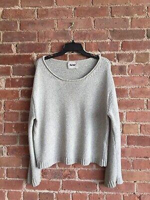 Acne Womens Sweater Sz Medium 100% Cotton SS11