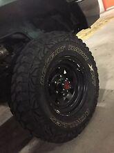 31' Achillies desert hawk mud terrain tyres 31x10.5x15 Schofields Blacktown Area Preview