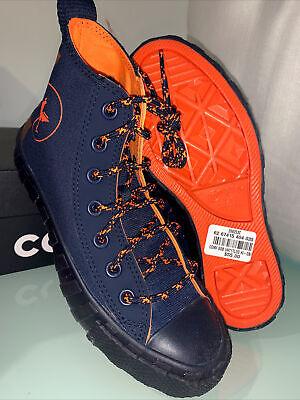 Converse UNTITL3D Hi Kid's shoes size 4 Youth obsidian/orange 268253C