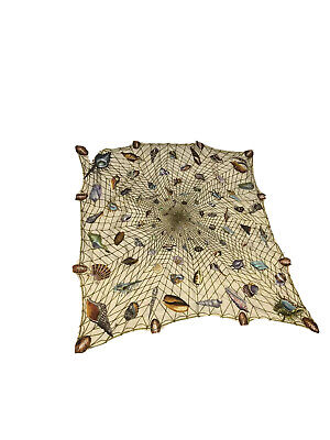 Vintage Gucci Scarf. Square Shells 35x35 Great To Frame