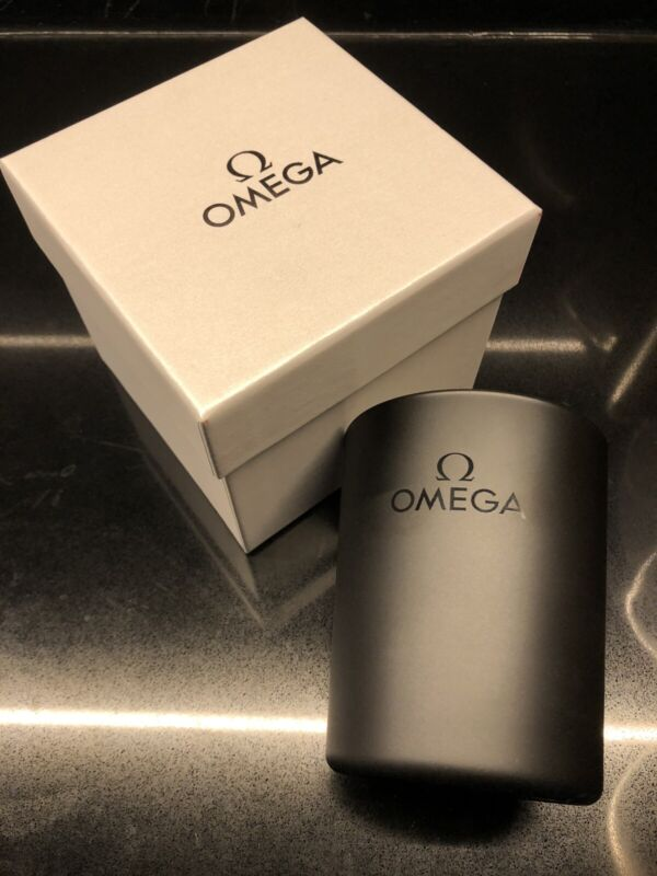 OMEGA Watch Brand Scented Collectible Candle Rare & Limited, Black