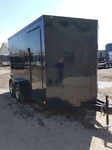 2020 Formula Trailers 7X12 Blacked Out Edition Enclosed Cargo Tr