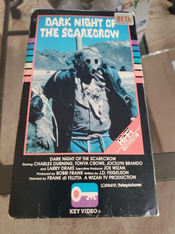 Dark night of the scarecrow Beta key video Betamax not VHS