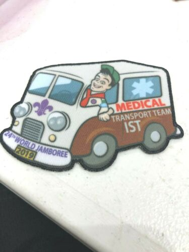 2019 WORLD JAMBOREE MEDICAL TRANSPORT TEAM IST STAFF PATCH