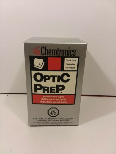 (26) ITW Chemtronics CP410 Optic Prep Cleaning Pads by Chemtronics