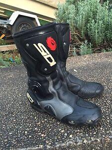 Sidi motorcycle boots new condition Lugarno Hurstville Area Preview