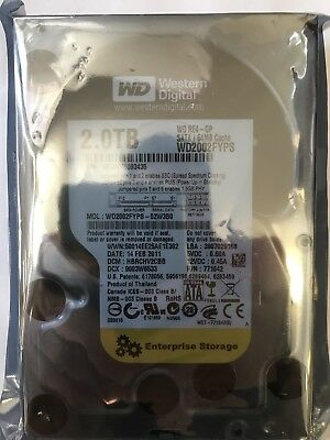 WD Western Digital RE4-GP WD2002FYPS 2 TB Enterprise 3.5