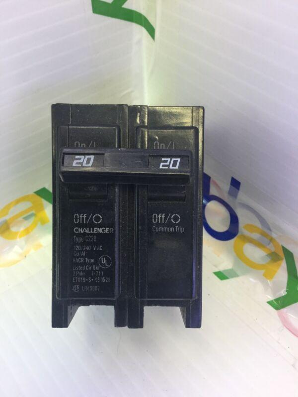 CHALLENGER C220  BREAKER, TYPE BR220, 120/240V, 2 POLE