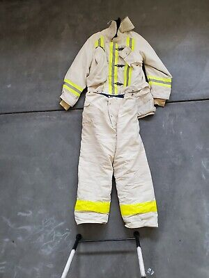 Fyrepel Mfg Fire Fighting Bunker Turnout Structure Gear Coat And Pants