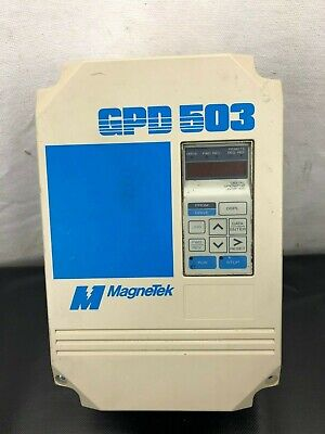 Magnetek Ds306 Gpd503 Variable Speed Ac Drive 3 Hp 200-230 Volts