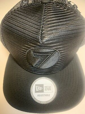 a41391caff2 NWT - Seven 7 Mens Dot Mesh Snapback Adjustable Hat Cap BMX