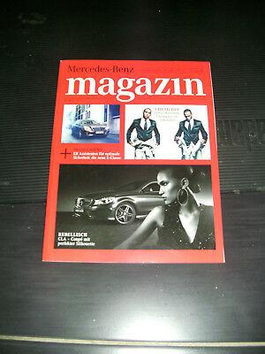 Mercedes Magazin 1/2013 - Neue E-Klasse, CLA Coupé, Lewis Hamilton