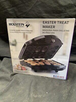 Holstein Housewares Easter Treat Maker Model HF-09042 Make Bunny And Eggs