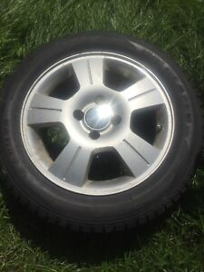 4 pneu +mags 205 55 R16 originale Ford